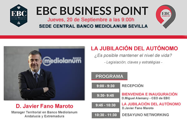 EBC Business Point en Sede central del Banco Mediolanum